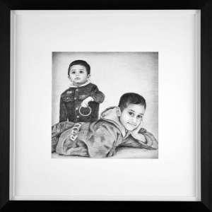 Harshal-Nehal-Framed