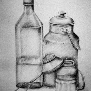 Still-Life-pots