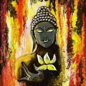 Buddha-in-colour