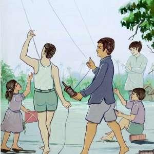 Playing-Kites