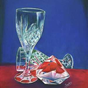 Crystal-and-wine-glasses