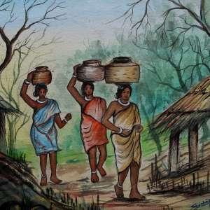 Ladies-carrying-water-pot